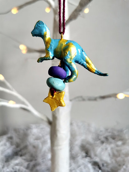 Rewild dinosaur blue/purple