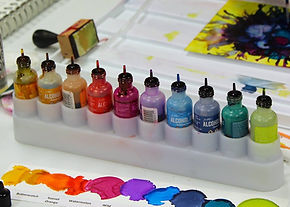 My Alcohol Ink Supply List