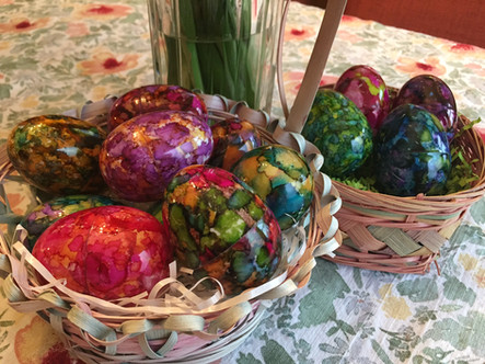 Alcohol Ink Easter Eggs [Video Tutorial]