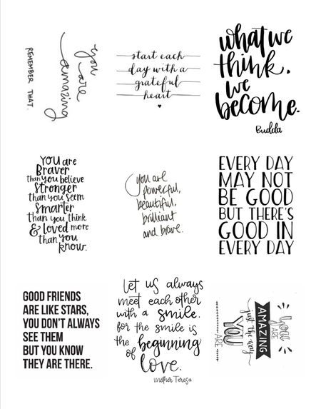 Inspirational Quotes for Greeting Cards