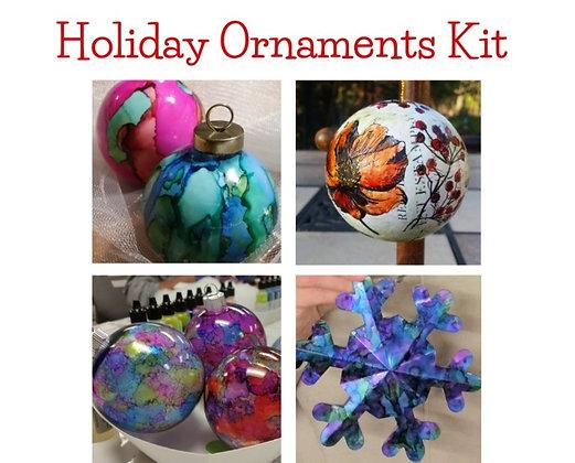 Holiday Ornaments Kit + Videos