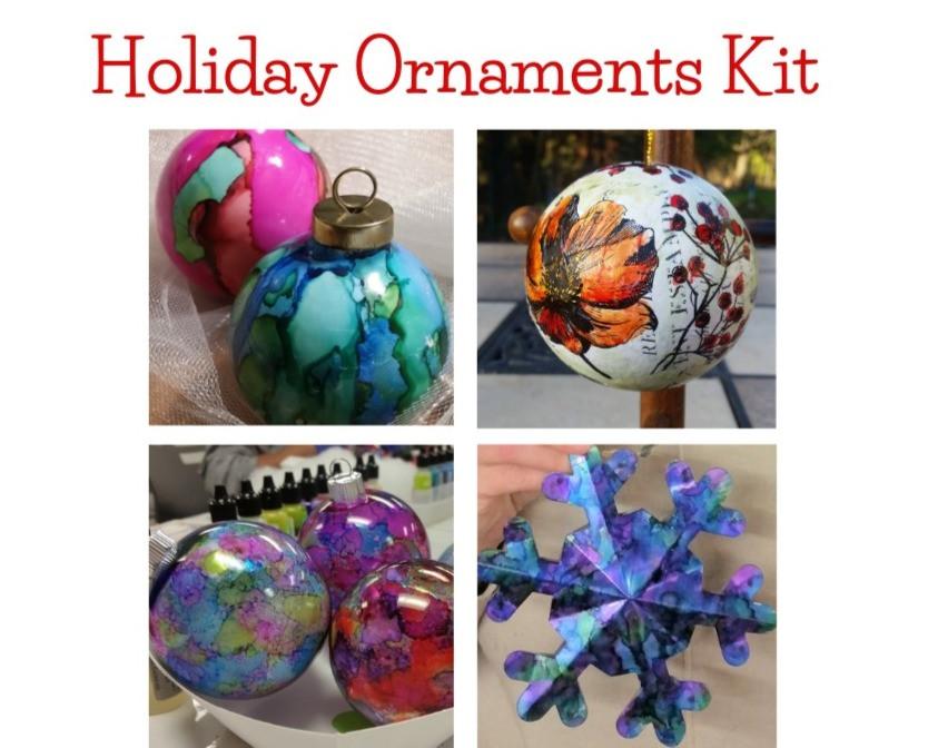 Holiday Ornaments Kit 2020