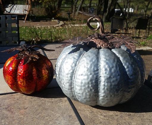Custom Jumbo Metal Pumpkin