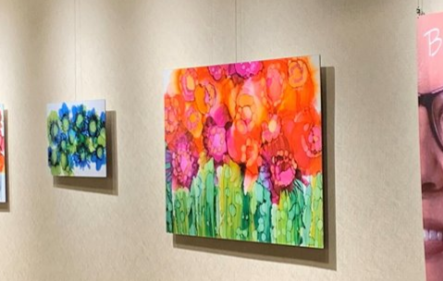 Artwork exhibited at Ovation Communities