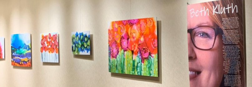 Artwork exhibited at Ovation Communities