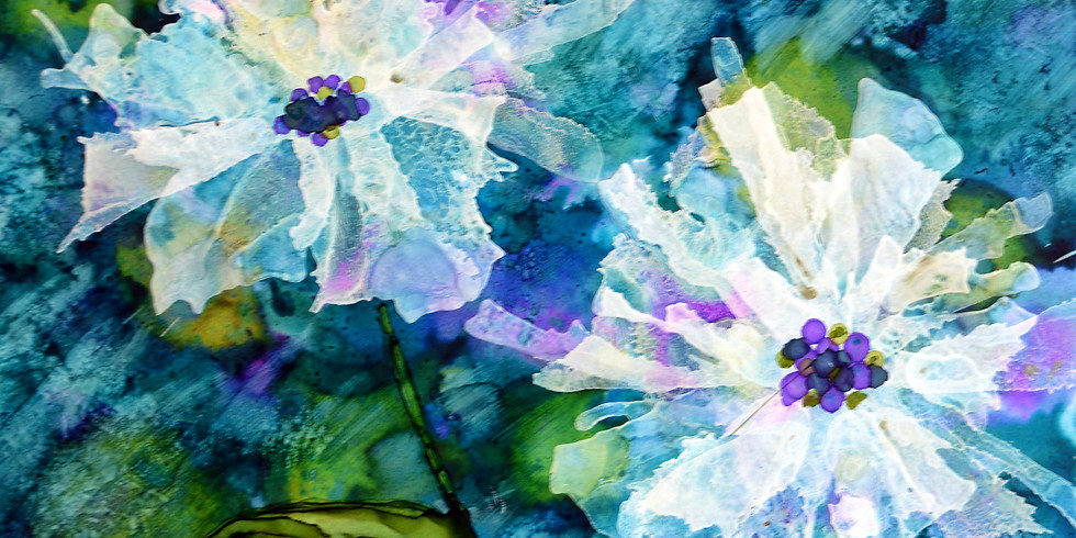 Workshop: Abstract Florals II on 4/23/19
