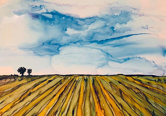 """""""The Field"""" signed print"""