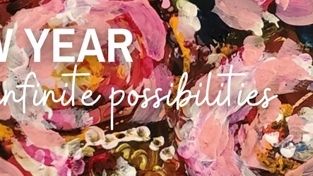 A new year, infinite possibilities
