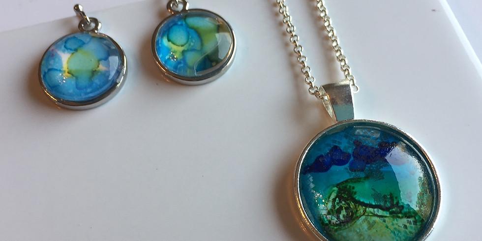 Glass Pendants & Earrings