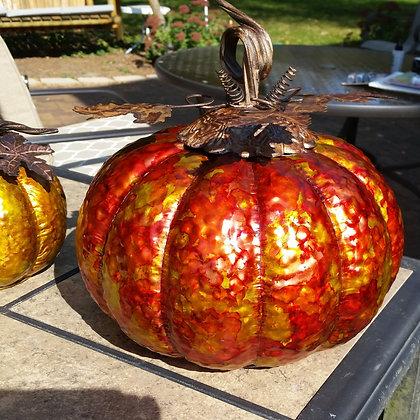 Jumbo Metal Pumpkin