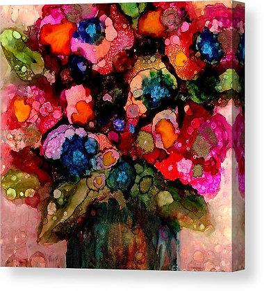 Antique Bouquet Canvas Print