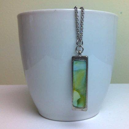 Slender Pendant Necklace