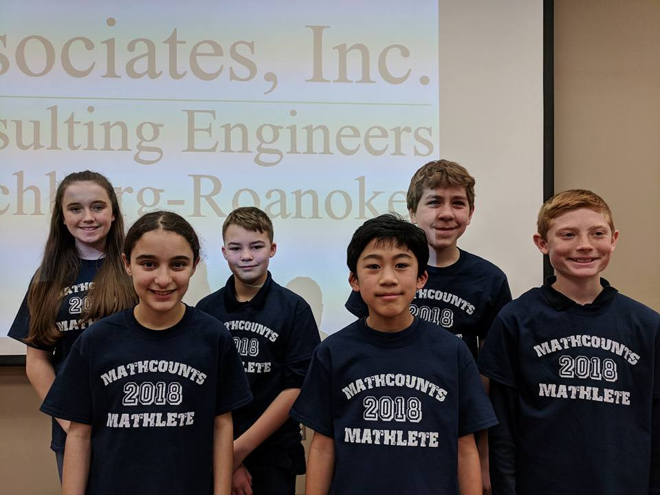 MATHCOUNTS competition team