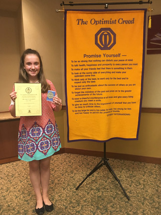 Sullins Student Wins Speech Competition