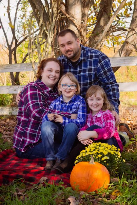 Fall Family portriat