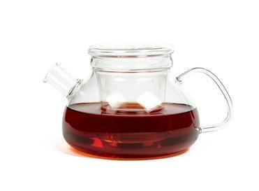 """Чайник из жаропрочного стекла 750 мл  """"Киото"""" с заварочной колбой"""
