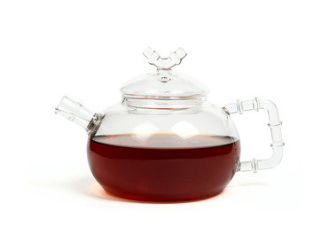 "Чайник из жаропрочного стекла 500 мл. ""Бамбук"""