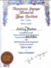 Ashley CIYT Certification