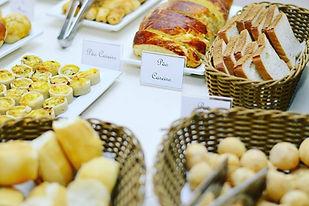 Café da manhã Hotel Vila Velha