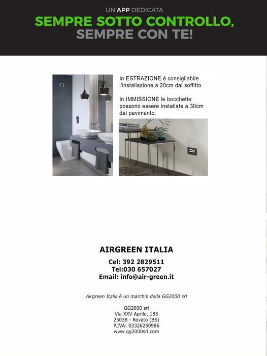 Airgreen Italia Ventilazione Meccanica C