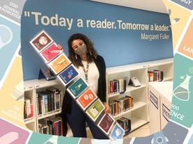 Como sinalizo as estantes de não ficção na Biblioteca Escolar?