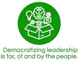 Democratizing Leadership Icon - Headline