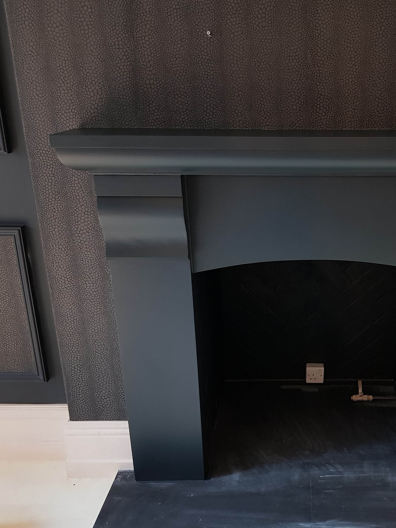Fireplace paint work.jpg