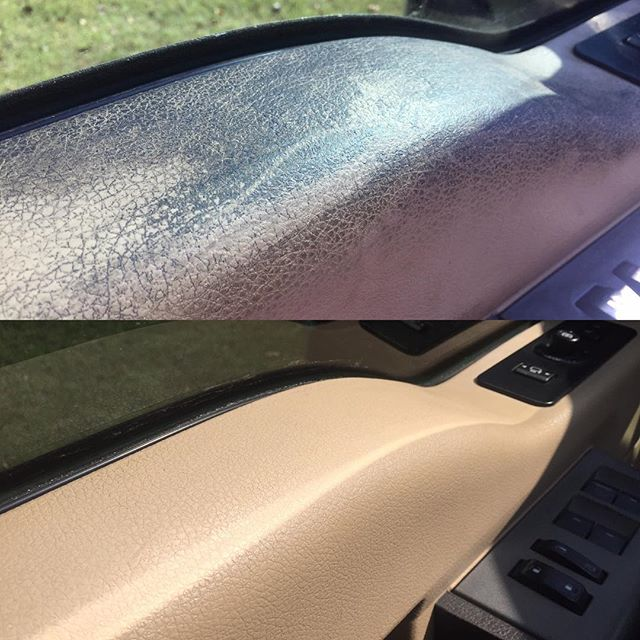 Auto interior detailing before and after 😷✨😀 #clearshinedetail #mobiledetailing #northwestarkansas
