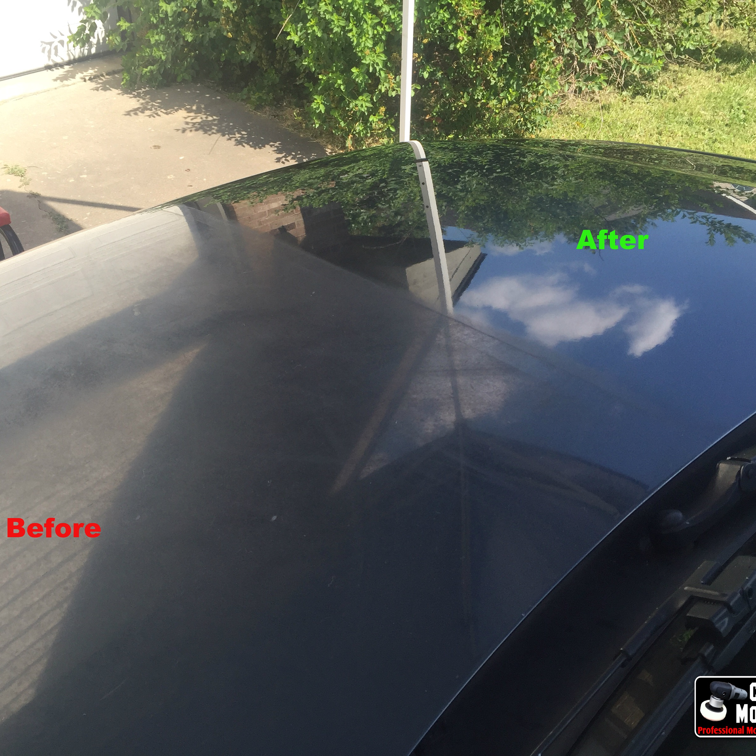 Oxidation Removal Before and afer