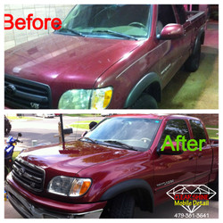Paint Polishing Before and after