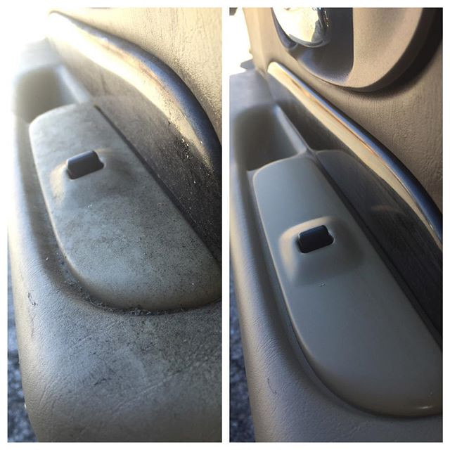 Interior detailing before and after __#clearshinedetail #northwestarkansas #autodetail #naturalstate