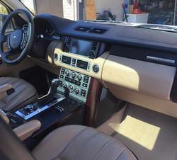 Range Rover Interior detailing ✔️ #clearshinedetail #mobiledetailing #fayettevillear #arkansas