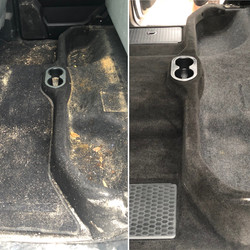 Carpet Detailing Before & After