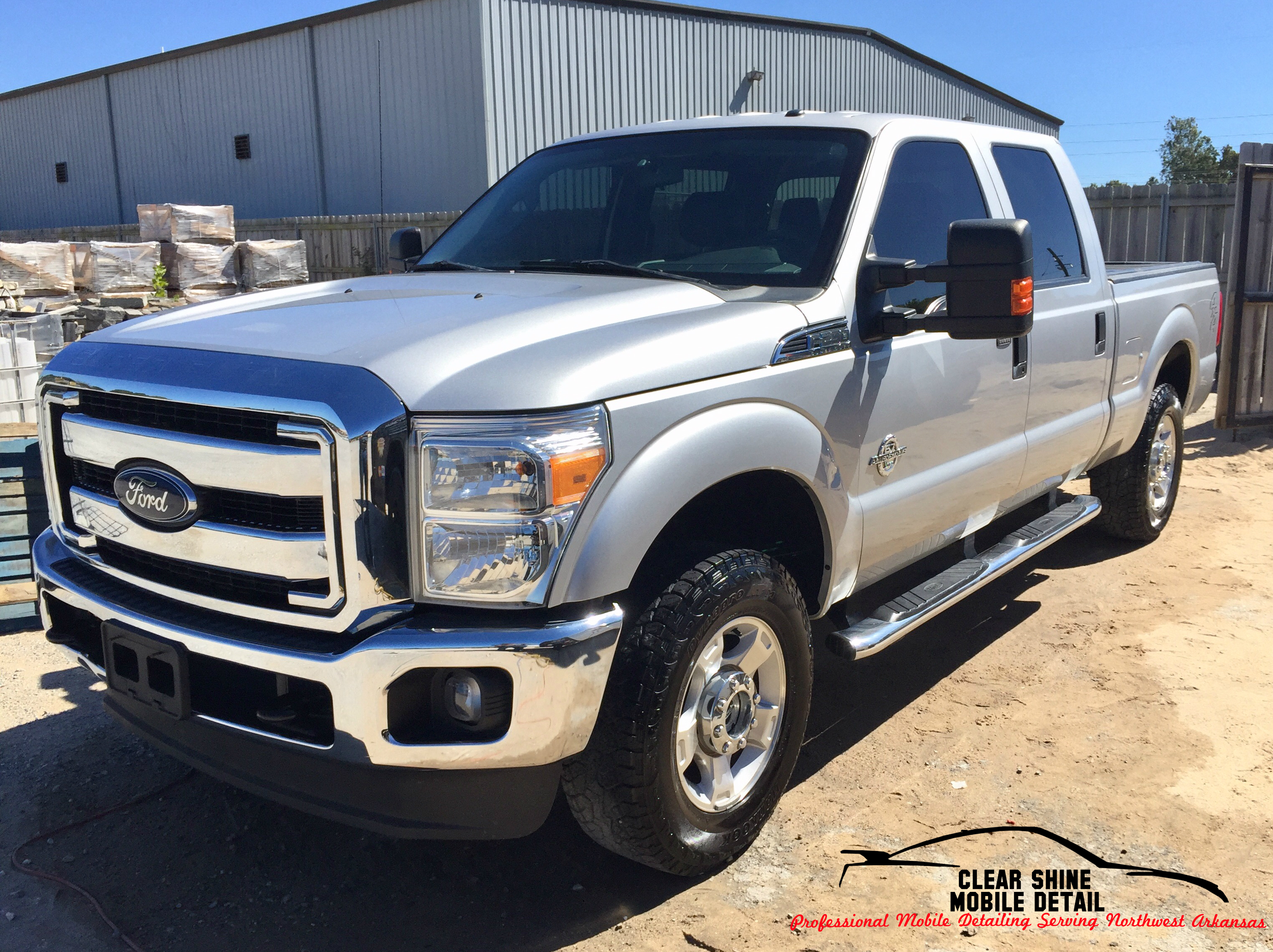 silver f350 ext only