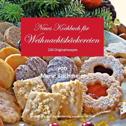 Marie Buchmeier Weihnachtsbäckerei