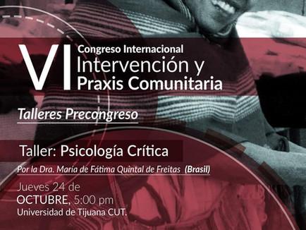 VI CONGRESSO INTERNACIONAL - INTERVENCIÓN Y PRAXIS COMUNITÁRIA 2019