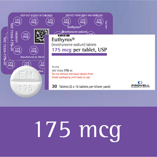 Euthyrox 175 mcg (levothyroxine sodium)
