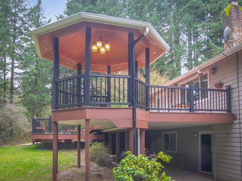 TimberTech Deck with Gazebo
