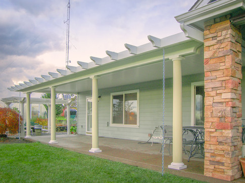 Alumawood Patio Cover with Columns