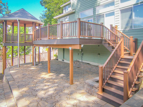 Trex Deck with Gazebo