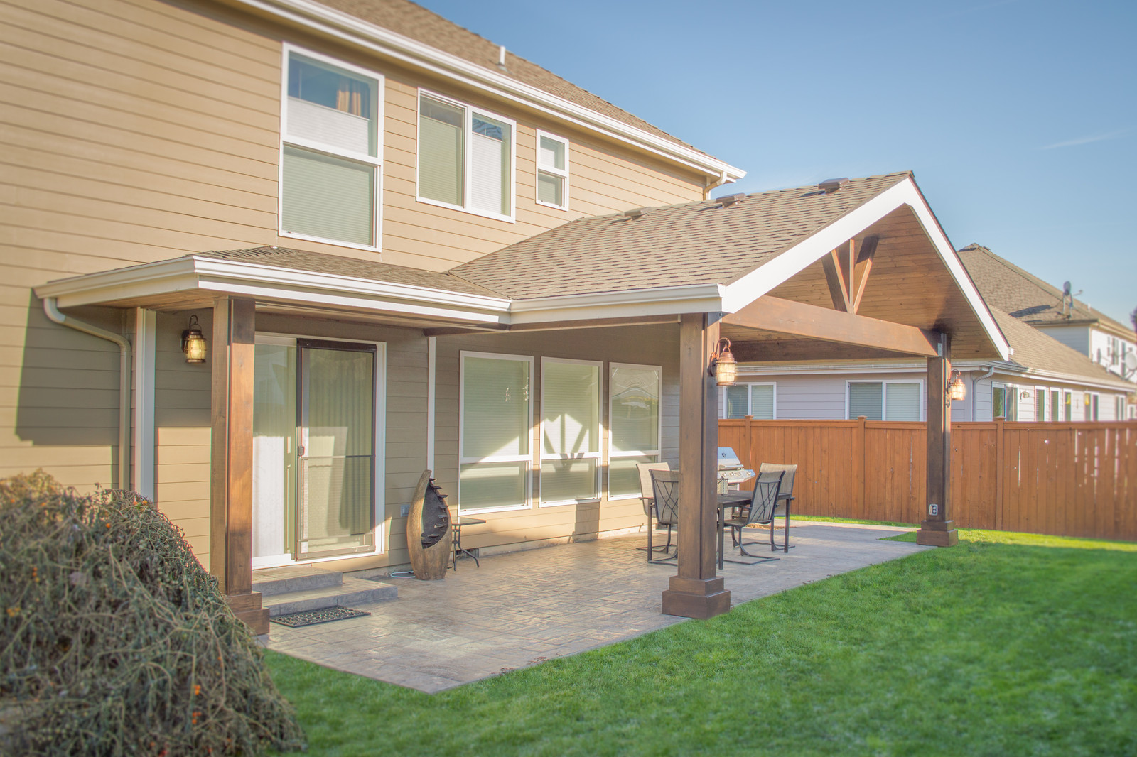 patio cover. Gable Patio Cover With Hipped Extension Patio Cover A