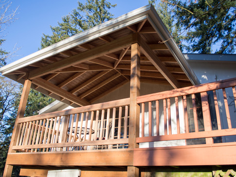 Exposed Beam Patio Cover