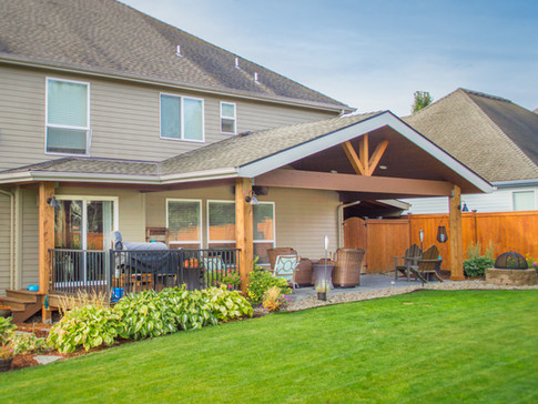Gable and Hipped Patio Cover
