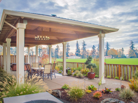 Double Free Standing Patio Covers