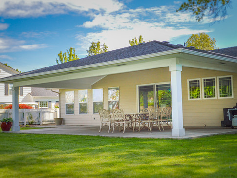 Large Hipped Patio Cover