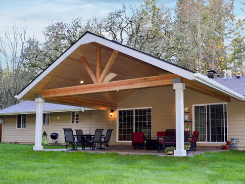 Gable Patio Cover