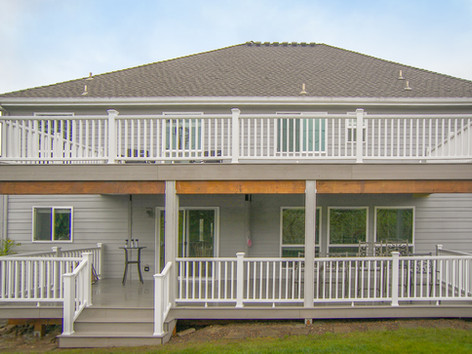 Two Story Trex Deck