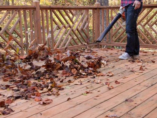 How to Winterize and Protect Your Deck