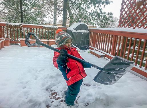 Don't Damage Your Deck When It Snows