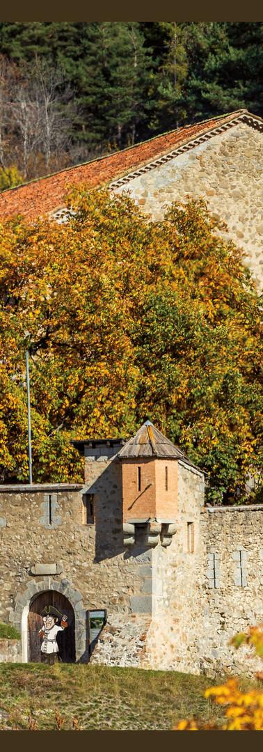 Le fort de Savoie en automne